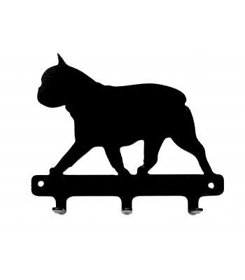 Suport metalic chei/lese Bulldog Francez