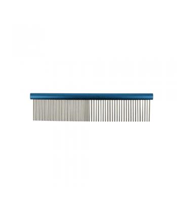 Groomers Combination Comb 19cm Dark Blue