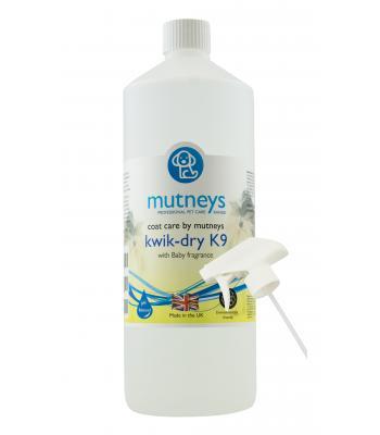 Mutneys Kwik-Dry K9 Spray